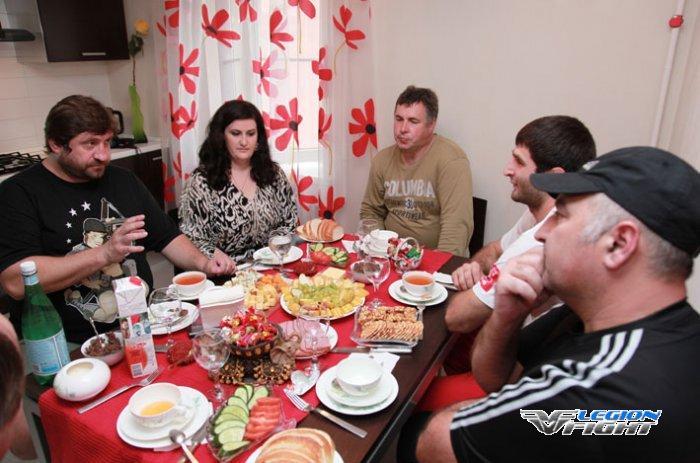 В гостях у Магомеда СК Легион Ростов-на-Дону